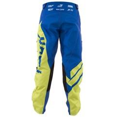 Calça Motocross Pro Tork Factory Edition Azul e Amarelo