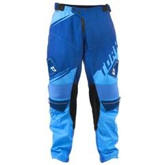Calça Motocross Pro Tork Factory Edition Azul e Azul Claro