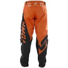 Calça Motocross Pro Tork Factory Edition Preto e Laranja