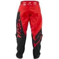 Calça Motocross Pro Tork Factory Edition Preto/Vermelho