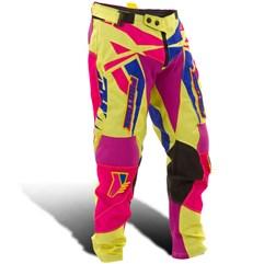 Calça Motocross Pro Tork Fleet Amarelo/Pink