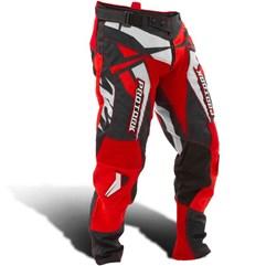 Calça Motocross Pro Tork Fleet Vermelho/Preto