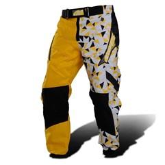 Calça Motocross Pro Tork Geometric Amarelo