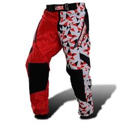 Calça Motocross Pro Tork Geometric Vermelho