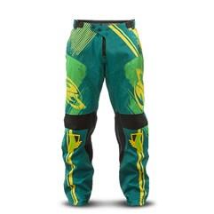 Calça Motocross Pro Tork Insane 4 Grafity Verde/Amarelo