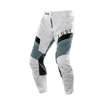 Calça Motocross Trilha Enduro Etceter Fuse Branco - Cinza