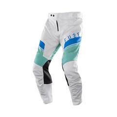 Calça Motocross Trilha Enduro Etceter Fuse Branco - Verde