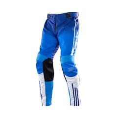 Calça Motocross Trilha Enduro Jett Armage Azul - Branco