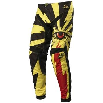 Calça Motocross Troy Lee Cyclops Amarelo