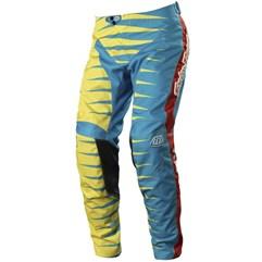 Calça Motocross Troy Lee GP Joker Azul/Amarelo
