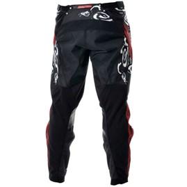 Calça Motocross Troy Lee GP Medusa Preto/Vermelho