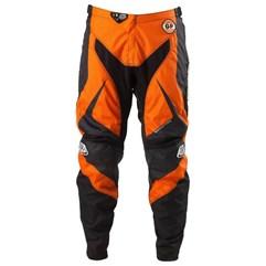 Calça Motocross Troy Lee GP Mirage Laranja/Preto