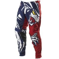 Calça Motocross Troy Lee GP Predador Vermelho/Azul