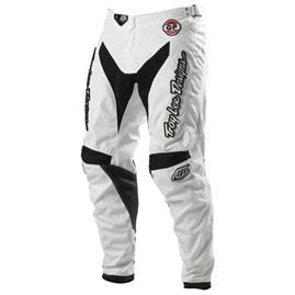 Calça Motocross Troy Lee Hot Rod Branco