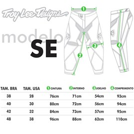 Calça Motocross Troy Lee SE Imperial