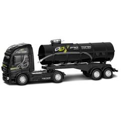 Caminhão Tanque Brinquedo Pro Tork Preto