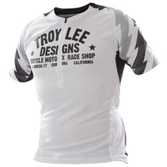 Camisa Bike Troy Lee Ace White