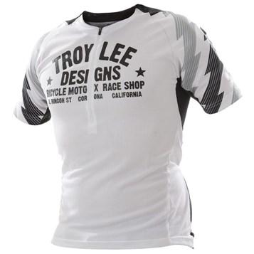 Camisa Bike Troy Lee Ace White