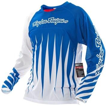 Camisa Bike Troy Lee Sprint Joker Blue/White
