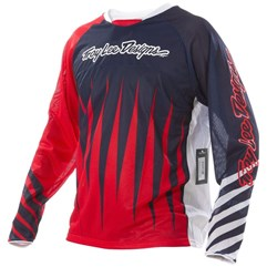 Camisa Bike Troy Lee Sprint Joker Red/Navy