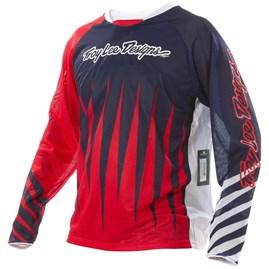 Camisa Bike Troy Lee Sprint Joker Red/Navy
