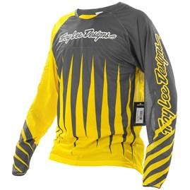 Camisa Bike Troy Lee Sprint Joker Yellow/Gray