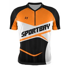 Camisa Ciclismo Bike Sportbay Manga Curta + Manguito Pro Tork