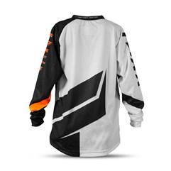 Camisa Infantil Mod. Factory Edition Neon Laranja
