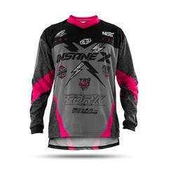 Camisa Infantil Motocross Trilha Enduro  - Pro Tork Insane X