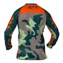 Camisa Infantil Motocross Trilha  - Jett Factory Edition 3