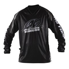 Camisa Infantil Motocross Trilha  - Pro Tork Insane In Black