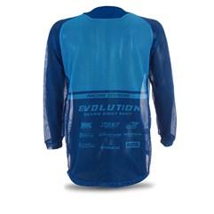 Camisa Jett Mod. Evolution Azul/Azul Claro