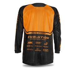 Camisa Jett Mod. Evolution Neon Laranja