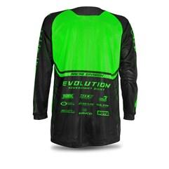 Camisa Jett Mod. Evolution Neon Verde