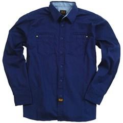 Camisa Masculino Troy Lee Kickstart Azul Marinho