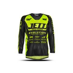 Camisa Motocross Infantil Jett Evolution Amarela