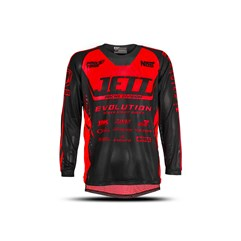 Camisa Motocross Infantil Jett Evolution Blood Red