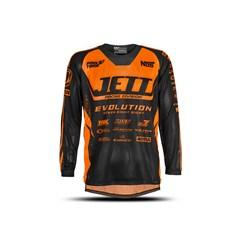 Camisa Motocross Infantil Jett Evolution Laranja