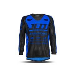Camisa Motocross Infantil Jett Evolution Miami Blue
