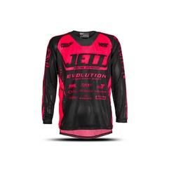 Camisa Motocross Infantil Jett Evolution Pink