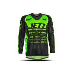 Camisa Motocross Infantil Jett Evolution Verde