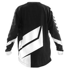 Camisa Motocross Infantil Pro Tork Factory Edition Preto/Branco