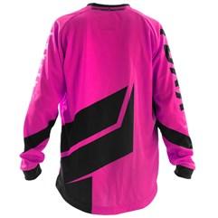 Camisa Motocross Infantil Pro Tork Factory Edition Preto/Rosa