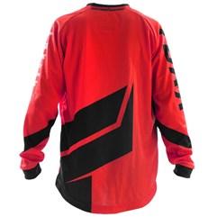 Camisa Motocross Infantil Pro Tork Factory Edition Preto/Vermelho