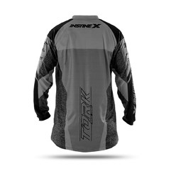 Camisa Motocross Insane X Cinza