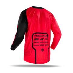 Camisa Motocross Jett Evolution 2 2019 Preto/Vermelho