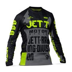 Camisa Motocross Jett Factory Edition 3 Amarelo