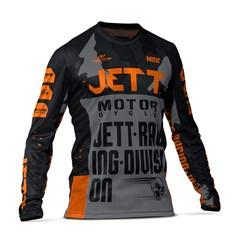 Camisa Motocross Jett Factory Edition 3 Laranja
