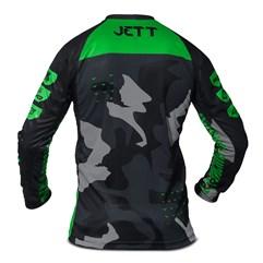 Camisa Motocross Jett Factory Edition 3 Verde