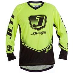 Camisa Motocross Jett Hi-Vis Amarelo Neon